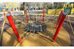 Caldwell said he hoped the playground's accessible features — including a soft but solid ground surface for children in wheelchairs, and sen...