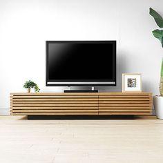 テレビボード GRIDダークブラウン