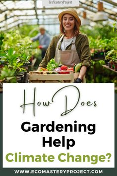 You might not think of gardening as an activity that can help stop climate change, but it is one of the best ways to do so. You will be able to reduce your carbon footprint and have more control over how much you consume. The following are some tips for those looking to know How Does Gardening Help Climate Change. Social Activities, Physical Activities, Effects Of Global Warming, Save Nature, Help The Environment, Photosynthesis, Greenhouse Gases, Carbon Footprint, Feeling Happy