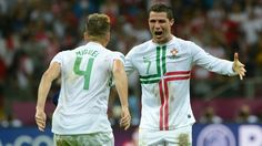 Cristiano Ronaldo & Miguel Veloso