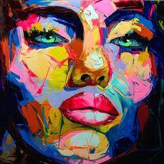 Darumbinichblank.de I 10 Künstler, die dich zum Kunstliebhaber werden lassen! Françoise Nielly kreiert seine Kunstwerke meistens mit dem Malmesser und erstellt Potraits bekannter Persönlichkeiten, wie zum Beispiel unter anderem Barak Obama