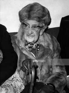 Picture dated in the 1970s of English writer Dame Agatha Christie