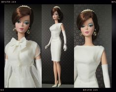 A while a go I saw this great Silkstone creation on Flickr. It was this Joan Holloway Barbie turned into a Dolce & Gabbana runway model. The look was inspired by the Fall Winter 2013 collection…