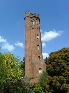 """vwcampervan-aldridge: """" Perrott's Folly, Edgbaston. One of the towers that inspired for J.R Tolkien in Lord Of the Rings *The Two Towers* when he lived in Birmingham. Edgbaston, Birmingham, England All Original Photography by. Storybook Homes, Birmingham England, The Two Towers, Unique Buildings, Water Tower, Historical Architecture, Middle Earth, Lord Of The Rings, Great Britain"""