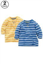 Stripe T-Shirts Two Pack