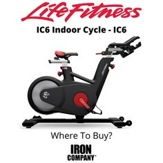 The IC6 Indoor Cycle from Life Fitness is an indoor cycling bike with rear flywheel design which uses magnetic resistance and Poly-V drivetrain for a smooth and authentic riding experience for cardiovascular exercise at home. Combining an attractive and innovative design with high-quality mechanical components, the IC-Series IC6 indoor cycling trainer is the perfect vehicle for intense caloric burn and cardiovascular conditioning and complements any home gym workout environment. Gym Workouts, At Home Workouts, Indoor Cycling Bike, Cardio Equipment, Innovation Design, Conditioning, Vehicle, Environment, Smooth