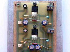 TDA2050 32W amp (LM1875 TDA2030A pcb  compatible) circuits