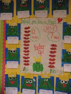 Fairy Tale Unit -Would you kiss a frog?Peace, Love and Kindergarten Fairy Tale Activities, Fun Classroom Activities, Rhyming Activities, Kindergarten Themes, Language Activities, Classroom Fun, Old English Decor, Fairy Tales Unit, Fairy Tale Theme