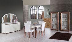 Dolunay Lüks Yemek Odası #diningroom #bedroom #avangarde #modern #pinterest #yildizmobilya #furniture #room #home #ev #young #decoration #moda #trend      http://www.yildizmobilya.com.tr/