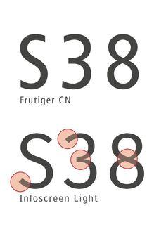 Infoscreen von Erik Spiekermann: Corporate Font für U-Bahn und Bus