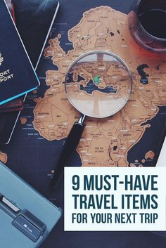 9 Travel Items You Will Want on Your Next Trip