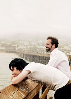 Paul Dano & Steve Carell - Little Miss Sunshine-- favorite scene :)