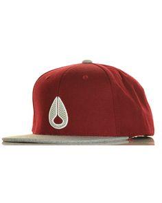 14853769ff15d Inseption - Mens - Nixon -Icon Starter Hat - Burgandy