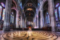 Grace Cathedral, San Francisco, CA, USA
