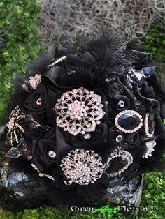 Bridal Brooch Bouquet, Brooch Bouquets, Green Art, Artificial Flowers, Dublin, Wreaths, Stars, Rose, Shop