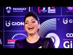 Playback singer Kanika Kapoor at the red carpet of the Colors GiMA Awards For more bollywood singer's latest news, gossips, hot photos, hot videos, pho. Singers, Red Carpet, Bollywood, Awards, Music, Youtube, Musica, Musik, Music Games
