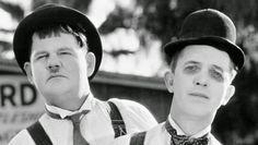 Stan Laurel e Oliver Hardy (Stanlio e Ollio)