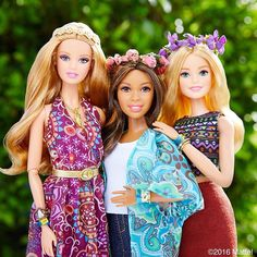 My #Coachella crew! There's nothing better than a great concert with friends.  #barbie #barbiestyle