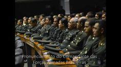 General do Exército convoca na nação brasileira