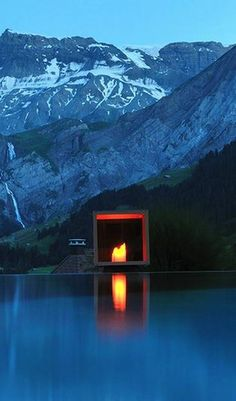 Boutique hotel recommendation for your next time visiting Switzerland. #Jetsetter Daily Moment of Zen: The Cambrian Adelboden in Adelboden, #Switzerland