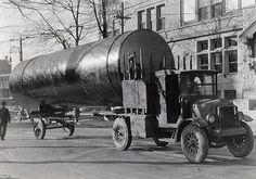 Vintage Tanker Truck. Old school trucking.  www.crcint.com