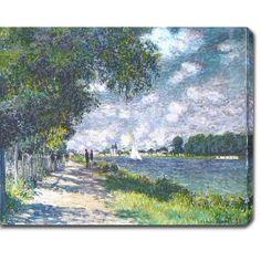 <li>Artist: Claude Monet</li><li>Title: The Seine at Argenteuil</li><li>Product type: Gallery-wrapped canvas art</li>