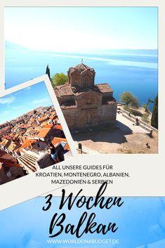 Alle Guides für einen #Roadtrip über den #Balkan in drei Wochen. Wir führen dich mit unseren #Reiseberichten durch: #Kroatien , #Montenegro , #Albanien , #Mazedonien und #Serbien. Hilfreiche Reisetipps, alle Kosten und Inspiration für deinen nächsten Urlaub inklusive! Jetzt mehr lesen...