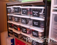 Craft Room Organization and Storage #practical #affordable