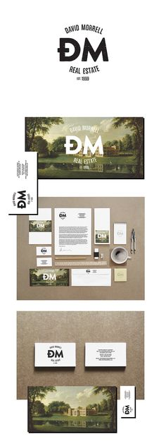 identity / david morrell - real estate