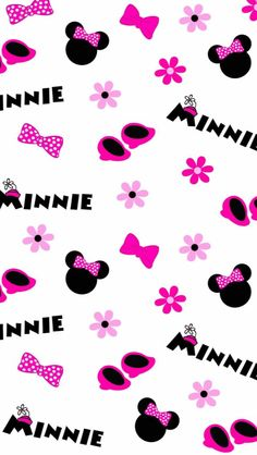 Mickey e Minnie 2 - Minus Mickey Mouse Wallpaper Iphone, Cute Disney Wallpaper, Pink Wallpaper, Cartoon Wallpaper, Iphone Wallpaper, Scrapbook Da Disney, Scrapbook Paper, Mickey E Minnie Mouse, Disney Mickey