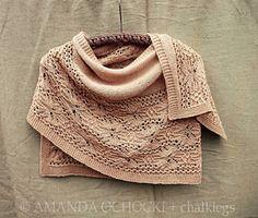 Ravelry: Tiger Lily Shawl pattern by Monika Sirna