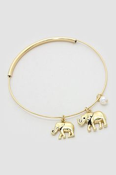 Ellie Charm Bracelet in Gold | Women's Clothes, Casual Dresses, Fashion Earrings & Accessories | Emma Stine Limited