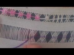 Button Hole Stitch, Drawn Thread, Buttonholes, Couture, Projects To Try, Embroidery, Handmade, Asana, Paper Roll Crafts