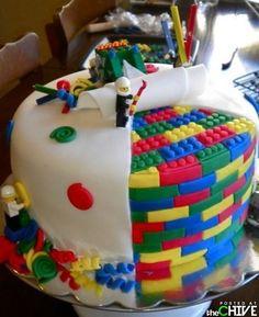 Unbelievable Cake Art  - Lego cake #Lego