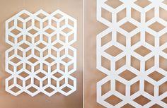DIY: Modern Geometric Backdrop - Project Wedding