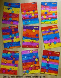 elena Lucchetta's media content and analytics Painting For Kids, Art For Kids, Classe D'art, Kindergarten Art Lessons, Ecole Art, Shape Art, Process Art, Artist Trading Cards, Preschool Art