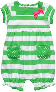 Carter's Short Sleeve Bubble Romper - Best Price