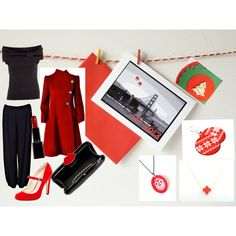 """Christmas in San Francisco"" by efzin on Polyvore"