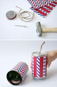 Firecracker Noisemaker Craft for Fourth of July