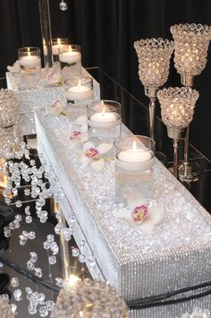 Beautiful, elegant wedding decor!  Get your four complimentary tickets to one of our Luxury Bridal Events at www.bridalexpotickets.com