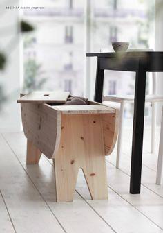 banc Ryssby : la nouvelle collection #capsule #Ikea ça sent bon le sapin