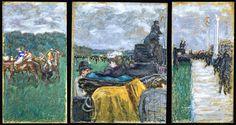 Pierre Bonnard ~ Les Courses a Longchamp