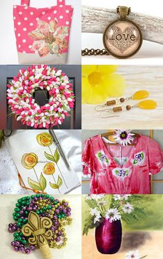 Dreaming of Spring by Jessica on Etsy--Pinned with TreasuryPin.com