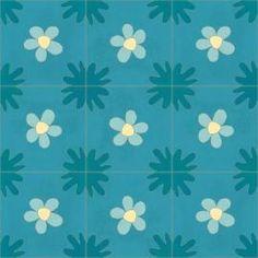 Carreaux Ciment | Floraux | MOSAIC del SUR