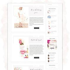 Absolutely blooming Feminine Wordpress Theme