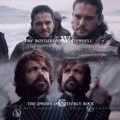 The bastard and the dwarf #gameofthonesfamily #gameofthrones #westeros #winterishere