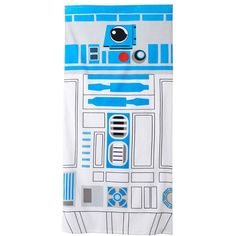 Star Wars R2D2 Beach Towel () ($15) ❤ liked on Polyvore featuring home, bed & bath, bath, beach towels and towels