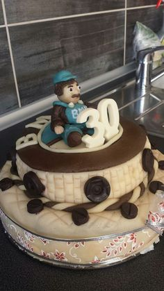 Narozeninový dort BMW Bmw, Cake, Desserts, Food, Tailgate Desserts, Deserts, Kuchen, Essen, Postres