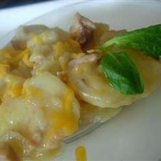 Slow Cooker Scalloped Potatoes with Ham Allrecipes.com