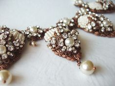 Rhinestone jewelry by mdmButiik